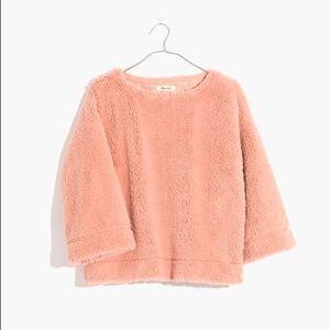 Madewell Superfurry Top Sweater NWT